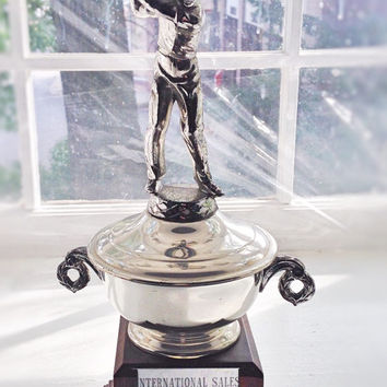 Vintage Trophy Cup / Golf Trophy Award 1965