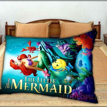 "Ariel the Little Mermaid - 20 "" x 30 "" inch,Pillow Case and Pillow Cover."