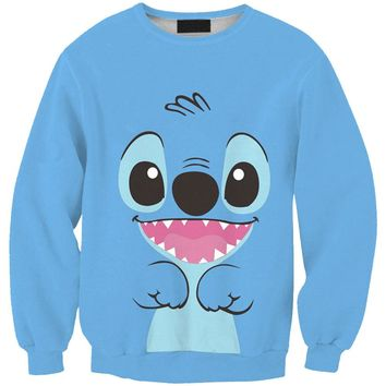 Hot Sale Adventure Time Hipster Cute Stitch 3d Print Hoodie Punk Women/Men Sweatshirts Hoodies Outfits Casual Sweats Tracksuits