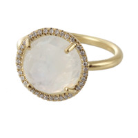 11MM RNBW MNSTN/DIA PAVE RING