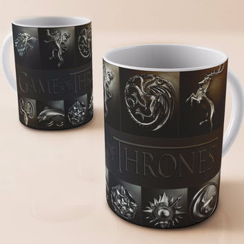 game of thrones coffee mug house stark a song of ice and fire mugs ceramic Tea mugen porcelain home decal