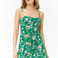 Floral Flared Cami Dress