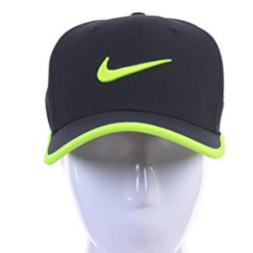 Nike Mens Vapor Classic 99 Dri-Fit Training Hat Black/Volt