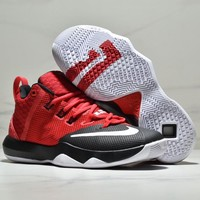 NIKE AMBASSADOR VIII James 9th generation air cushion basketball shoes red