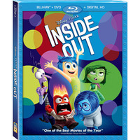 Inside Out 2D Blu-Ray Combo Pack (Blu-Ray/DVD/Digital HD)