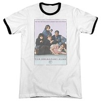 The Breakfast Club Poster Retro Ringer Adult T-Shirt