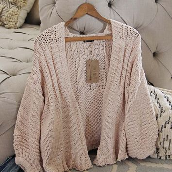 Spring Valley Sweater in Oatmeal