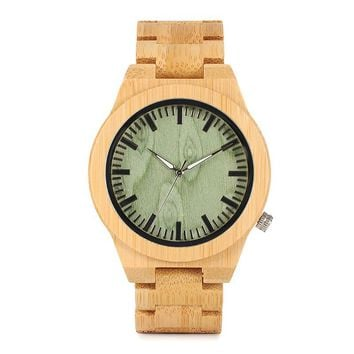 "The ""Miyota"" Wood Watch"