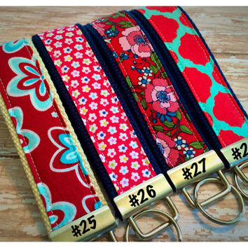 Key Fob, Wristlet, Keychain - Choose your design