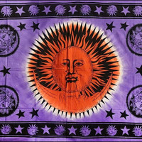 Good Morning Sun and Moon - Tapestry
