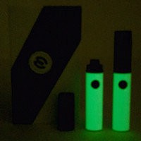 Glow in the Dark Gloss Black Micro Vape double kit