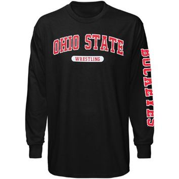 Ohio State Buckeyes Wrestling Long Sleeve T-Shirt - Black