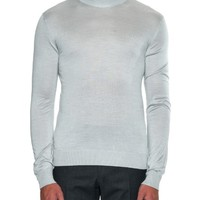 Roll-neck fine silk-knit sweater | Lanvin | MATCHESFASHION.COM US