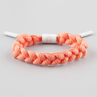 Rastaclat Tuesday Shoelace Bracelet Orange One Size For Men 25185470001