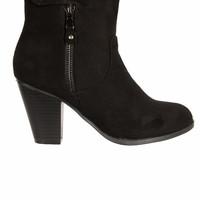 The Black Ankle Boots-FINAL SALE