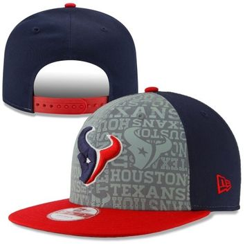 Shop Houston Texans New Era Hats on Wanelo