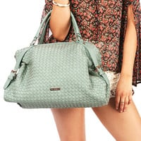Urban Tether Bag - Woven Bags at Pinkice.com