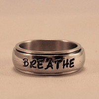 Spinner Ring- Personalized Stainless Steel Ring