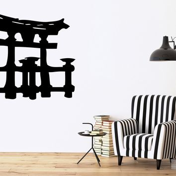 Torii Asian Temple Japan Japanese Gates Decor Wall Art Mural Vinyl Decal Sticker M461