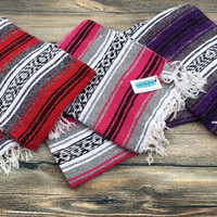 Authentic Mexican Fafsa Blankets