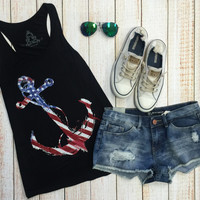 Anchor Flag Tank