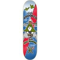 Krooked Mike Anderson Kamp Krooked Skateboard Deck - 8.38