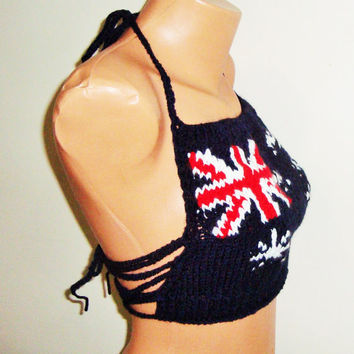 Australian Festival clothing womens top - Australia Flag