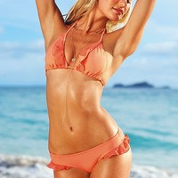 Ruffle-trim Triangle Top - Beach Sexy?- - Victoria's Secret