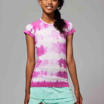 Fly Tech Short Sleeve Tee*Tie Dye | ivivva