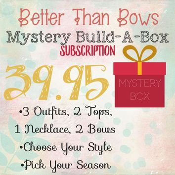 RTS Mystery Box Subscription! 39.95