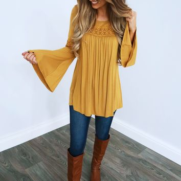 Always There Tunic: Honey