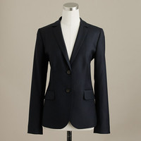 Jacket In Super 120S Wool