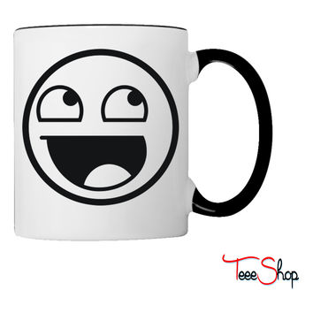Awesome Smiley 1c Coffee & Tea Mug