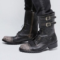 Mens Custom-made Marcus Biker Boots at Fabrixquare
