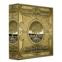 50th Golden Anniversary 3 Ring Binder