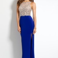 Illusion Cluster Jersey Dress from Camille La Vie and Group USA