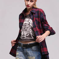 Red and Blue Flannel