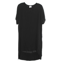 Wilt Black Silky Tee Dress | Les Pommettes