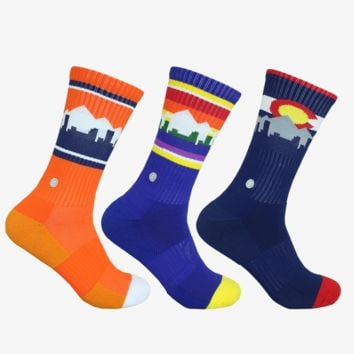 DENVER SKYLINE SOCKS - MILE HIGH PACK