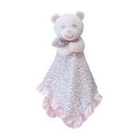 Carter's Baby Girls Pink Bear Lepoard Print Security Blanket Lovey, Nunu, Lovies, Snuggle Buddy