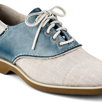 Sperry Top-Sider Men's Cloud Logo Boat Oxford Saddle Shoe