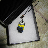 Minion Cell Phone Charm