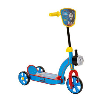 Dynacraft 6-Inch Thomas 3 Wheel Scooter, Blue/Yellow/Red