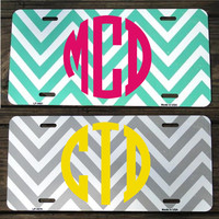 Personalized Preppy Car Tags by OhMyWordDesigns on Etsy