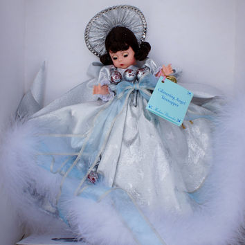 Madame Alexander Glistening Angel Tree Topper