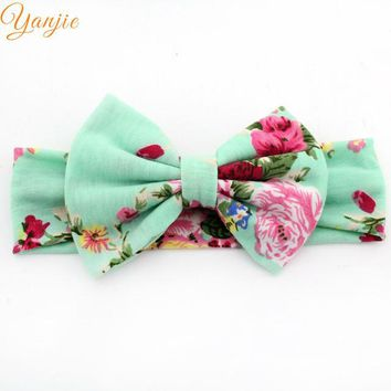 Summer Floral Cotton Headband