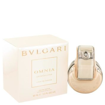 Omnia Crystalline L'eau De Parfum by Bvlgari Mini EDP Spray .84 oz