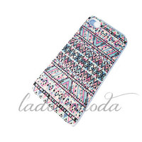 PIXELATED AZTEC PATTERN tribal hard plastic iPhone case iPhone 4 iPhone 5 samsung galaxy s3 hot new summer item