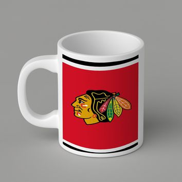Gift Mugs | Chicago Blackhawks Ceramic Coffee Mugs