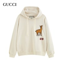 GUCCI new fashion stickers deer hoodies cotton sweater